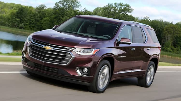 2018 Chevy Traverse First Drive | Bigger, but not the best