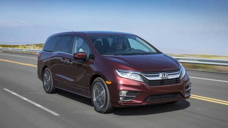 Mobile parenting tool | 2018 Honda Odyssey First Drive