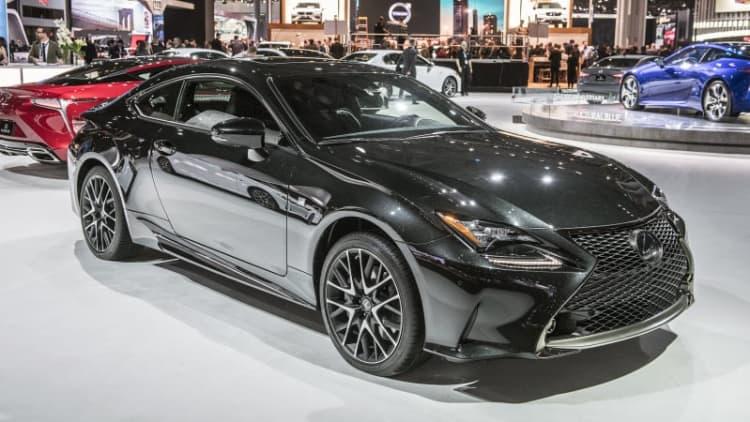 Lexus building just 650 Black Line RC coupes