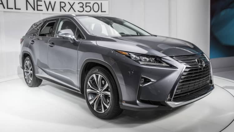 2018 Lexus RX 350L, RX450hL are here to fill your 7-seat needs