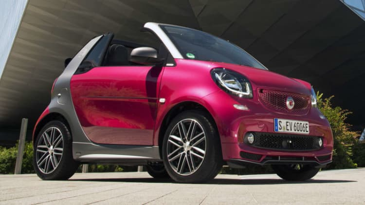 Ouch, that smarts   2017 Smart Fortwo Electric Drive Cabrio First Drive