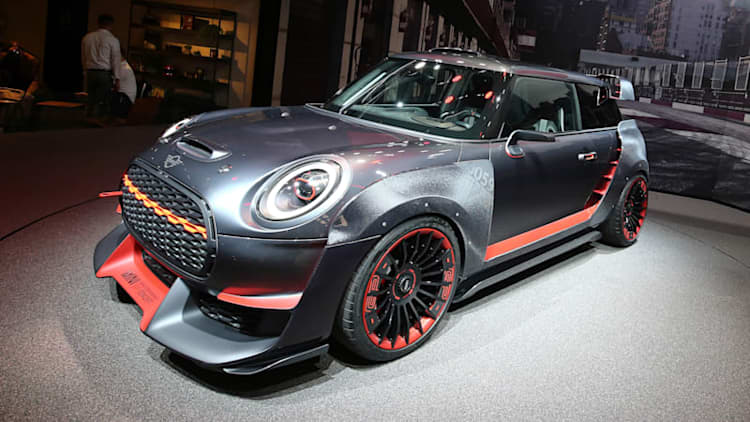 Latest Mini John Cooper Works GP is a radical-looking concept car