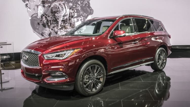 2019 Infiniti QX60 and QX80 introduced with new Limited trim level