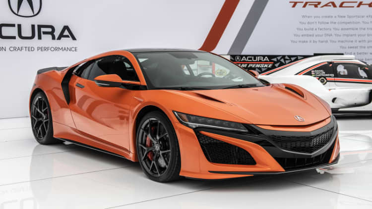 2019 Acura NSX gets a refresh and an eye-catching new color