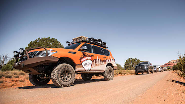 Nissan Armada Mountain Patrol Quick Spin Review | Holding the high ground