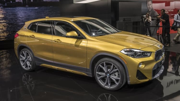 BMW X2 brings a sporty look to crossover lineup