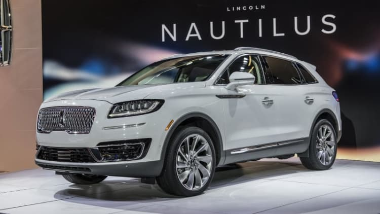 2019 Lincoln Nautilus replaces MKX crossover as new naming system takes hold
