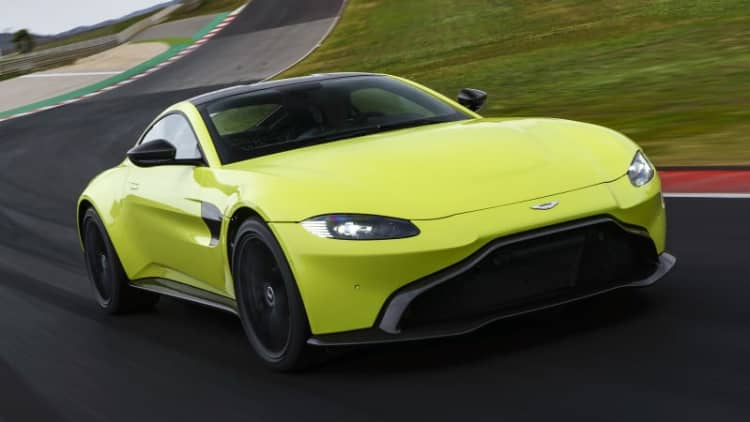 2019 Aston Martin V8 Vantage First Drive Review | A sportier bark and bite