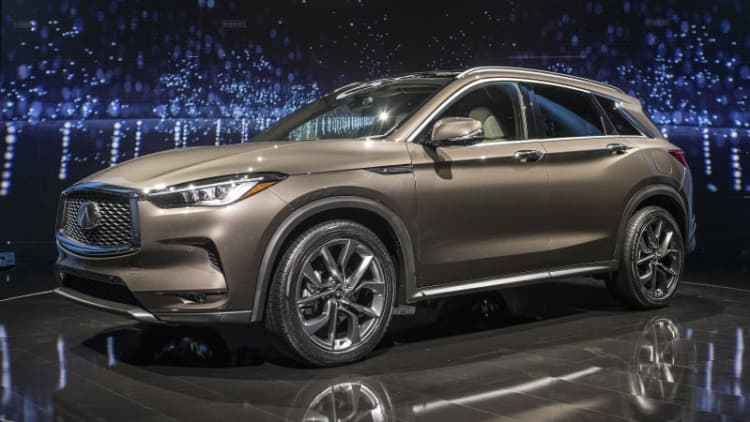 Infiniti's variable compression engine in the 2019 QX50 is the first of its kind