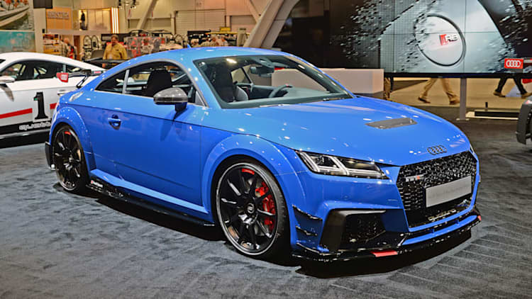 Audi brings 600-horsepower TT Clubsport concept to SEMA
