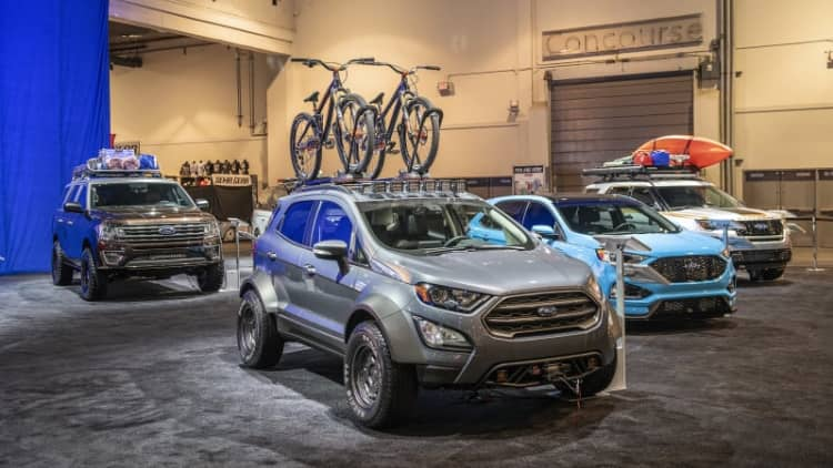Ford Edge ST and other Ford SUVs get the custom treatment for SEMA Show