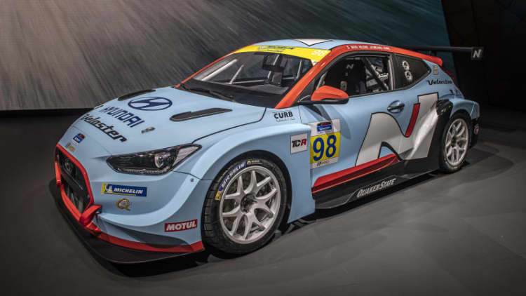 Hyundai Veloster N TCR gives the hot hatch legit racing credentials
