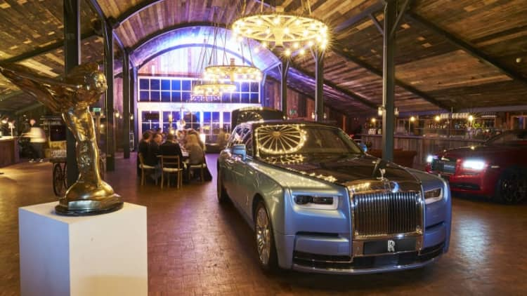 Rolls-Royce hosts first 'Cars and Cognac' event in the U.K.
