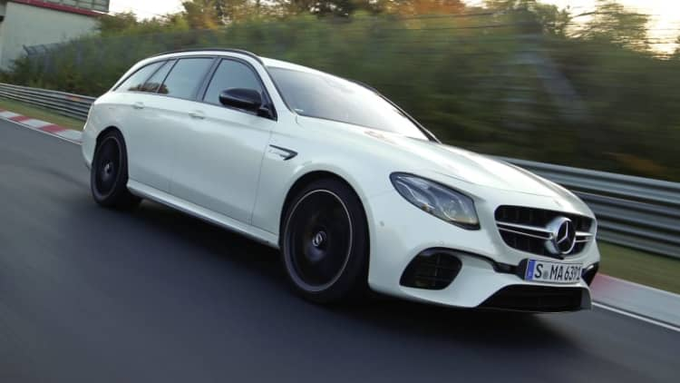 Mercedes-AMG E63 S claims fastest Nurburgring wagon lap time