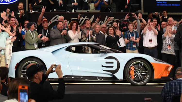 11 most expensive lots at the 2019 Barrett-Jackson Scottsdale Auction