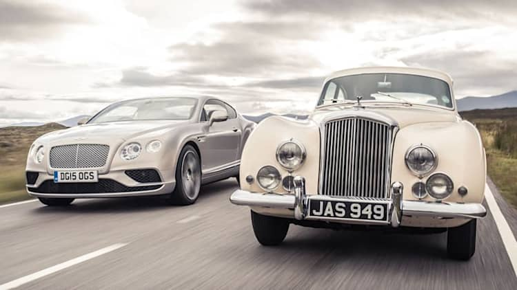 Bentley Continental has come a long way in 63 years
