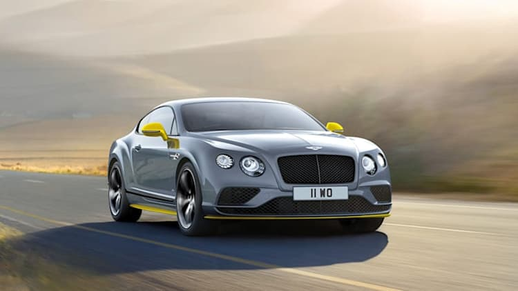 Bentley Continental GT Speed gets a little more juice