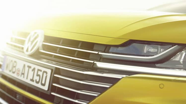 The coupe-like Volkswagen Arteon is the CC's successor