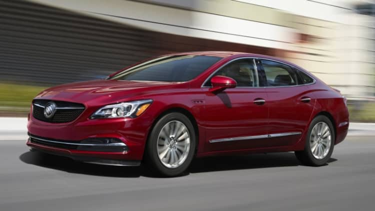2019 Buick LaCrosse Sport Touring isn't that sporty