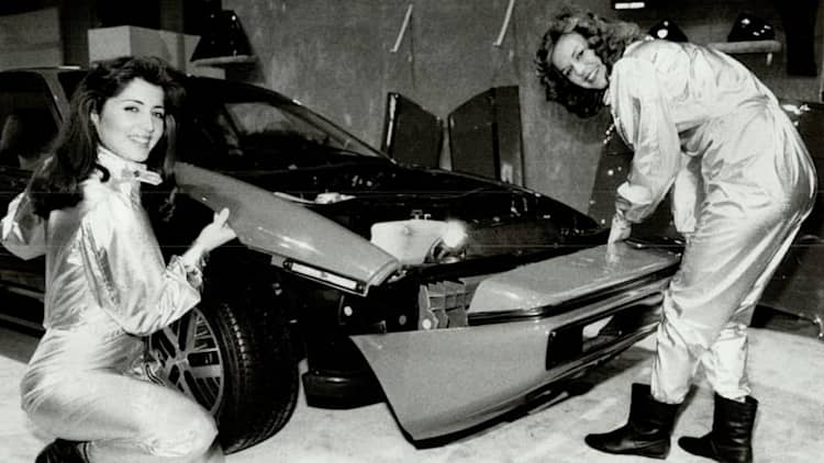 Gordon Murray, F1-driven production and .. the Pontiac Fiero