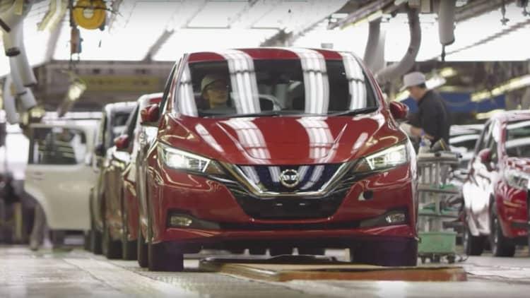 Nissan has built 150 million vehicles