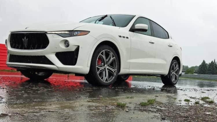 2019 Maserati Levante GTS First (Wet) Drive Review | A brief taste of a Ferrari-flavored SUV