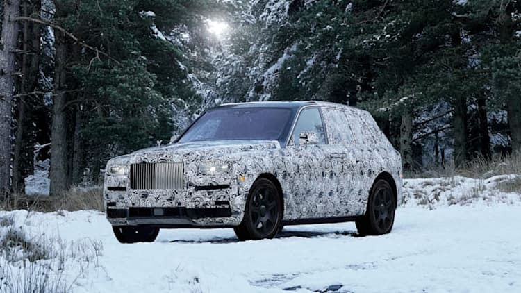 Rolls-Royce says SUV will in fact be called Cullinan, releases photos