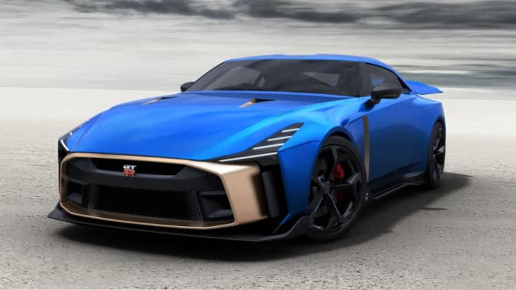 Nissan GT-R50 by Italdesign production version shown, will cost over $1 million