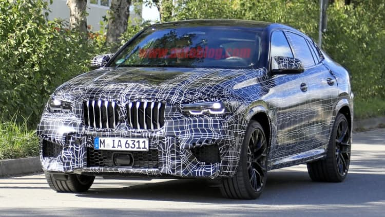 2020 BMW X6 M spied with bigger everything