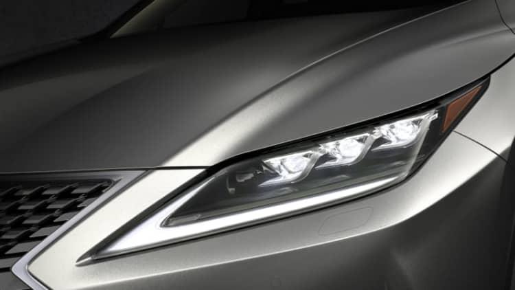 Lexus Bladescan is another new headlight safety breakthrough U.S. won't get