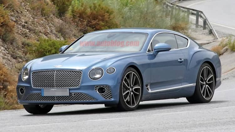2020 Bentley Continental GT plug-in hybrid spied undisguised