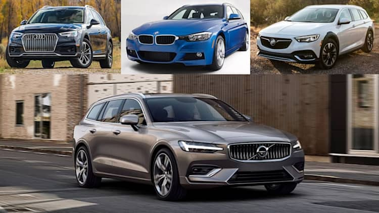 2019 Volvo V60 vs. wagon competitors: How they compare on paper