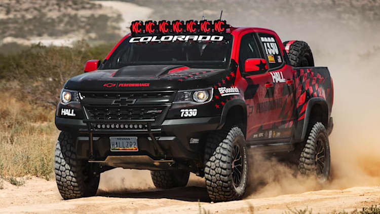 Mostly stock Chevy Colorado ZR2 will do Vegas to Reno with Hall Racing