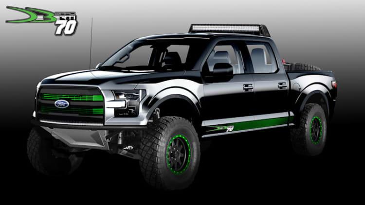 Monster Ford F-150 Raptor and Super Duty trucks invade SEMA