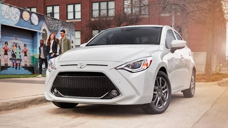 2019 Toyota Yaris gets new name, grille, 3 trim levels