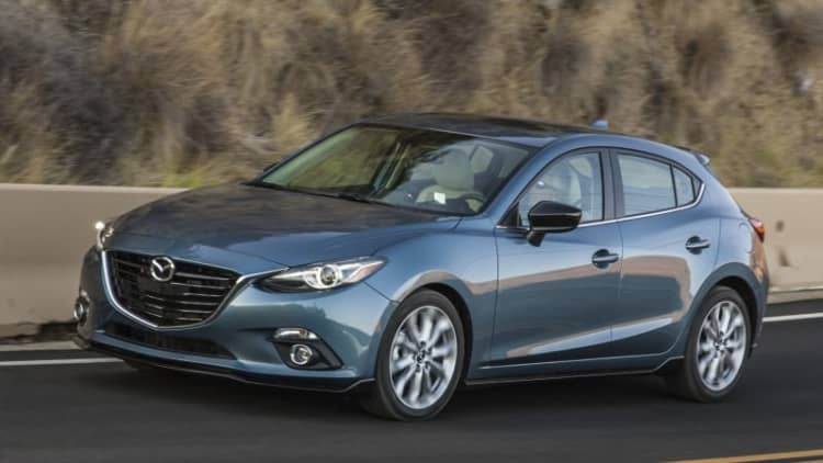 Mazda halts Mazda3 sales for fuel tank problem