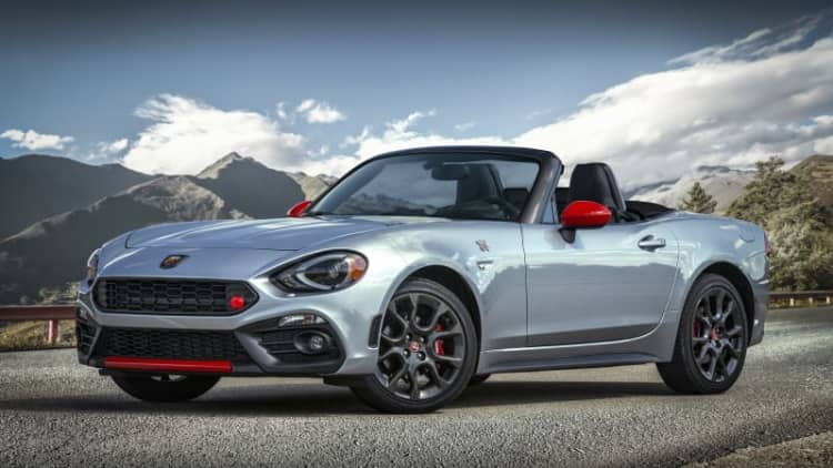 2019 Fiat 124 Spider Abarth will at least look and sound faster