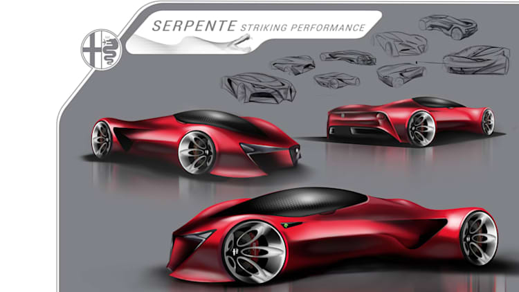 High school design students sketch out FCA's 'ultimate status vehicle'