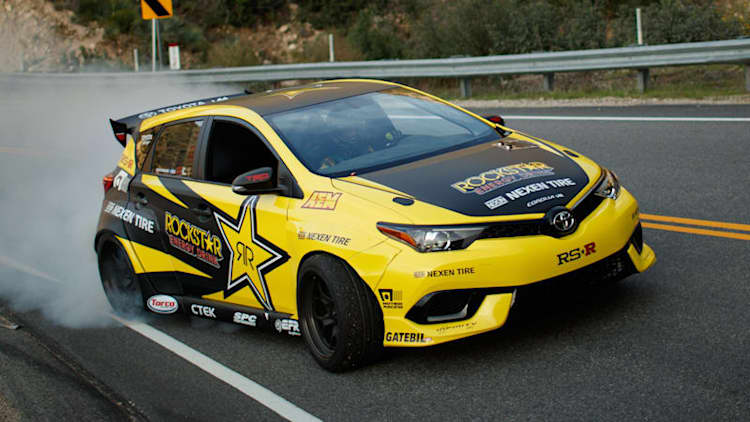This 1000-horsepower Corolla iM drift car is the ultimate hot hatch
