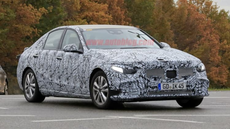 2021 Mercedes-Benz C-Class spy photos give us our first look at the new sedan
