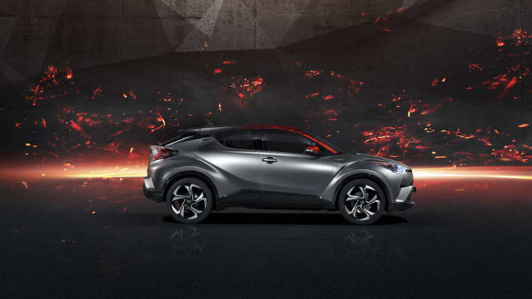 Toyota's C-HR Hy-Power concept heralds higher-powered hybrids