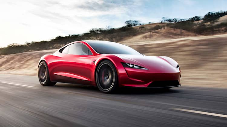 Tesla Roadster surprise reveal | 'Quickest car in the world'