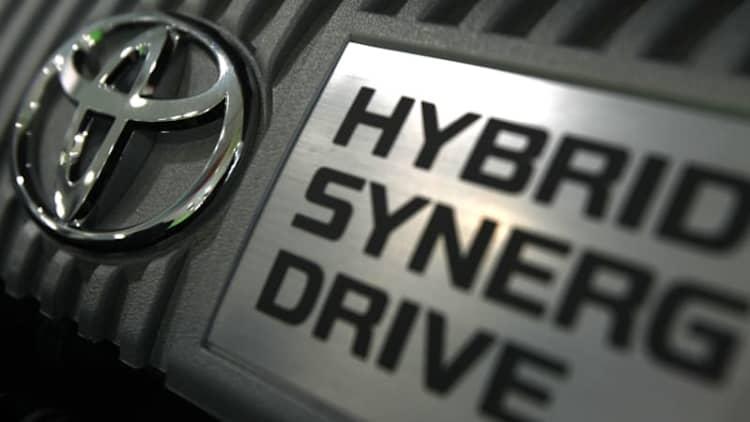 Toyota recalls 2.4 million Prius and Auris hybrids over stalling