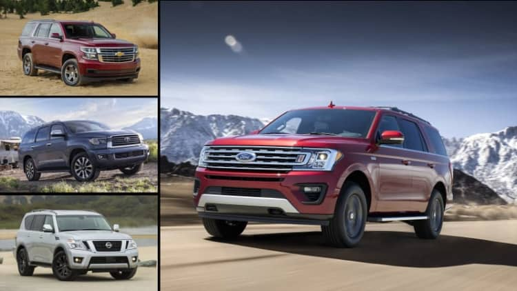 2018 Ford Expedition vs other big SUVs: How it compares on paper