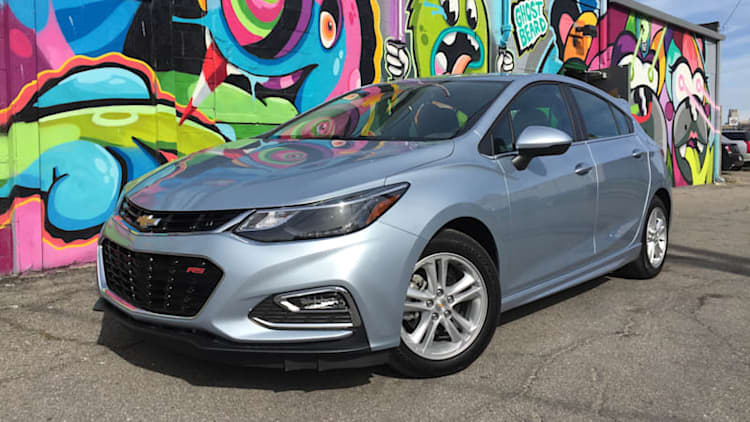 Room and a better view | 2017 Chevrolet Cruze Hatchback First Drive