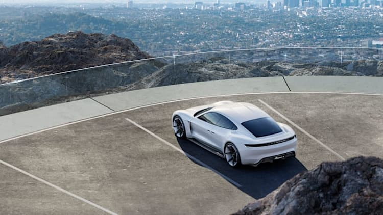 Porsche will price Taycan between Cayenne and Panamera