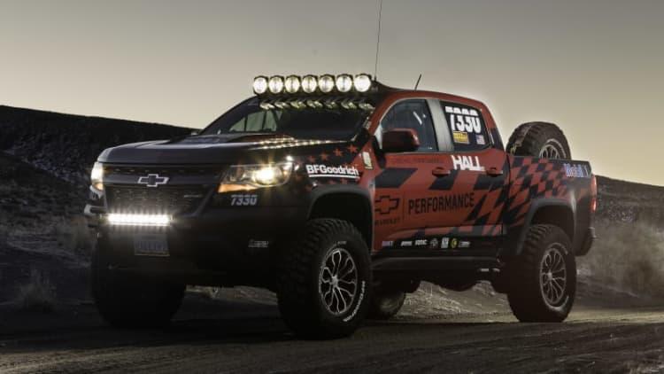 Chevy Performance race parts turn Colorado ZR2 into Baja desert runner