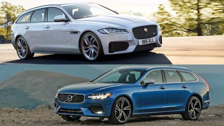 Jaguar XF S Sportbrake vs. Volvo V90 R-Design: A sporty wagon comparison