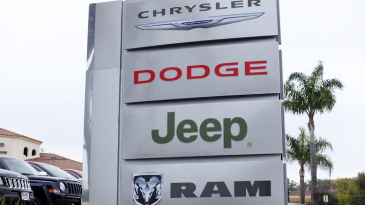 Fiat Chrysler's Q3 profit boosted by strong North American earnings