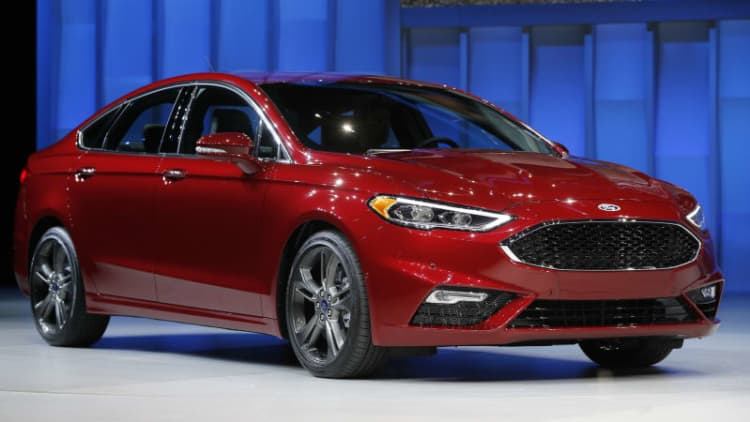 Ford recalls 1.9m cars and crossovers for defective airbags